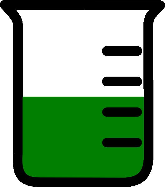 Chemistry panda free images. Green clipart beaker