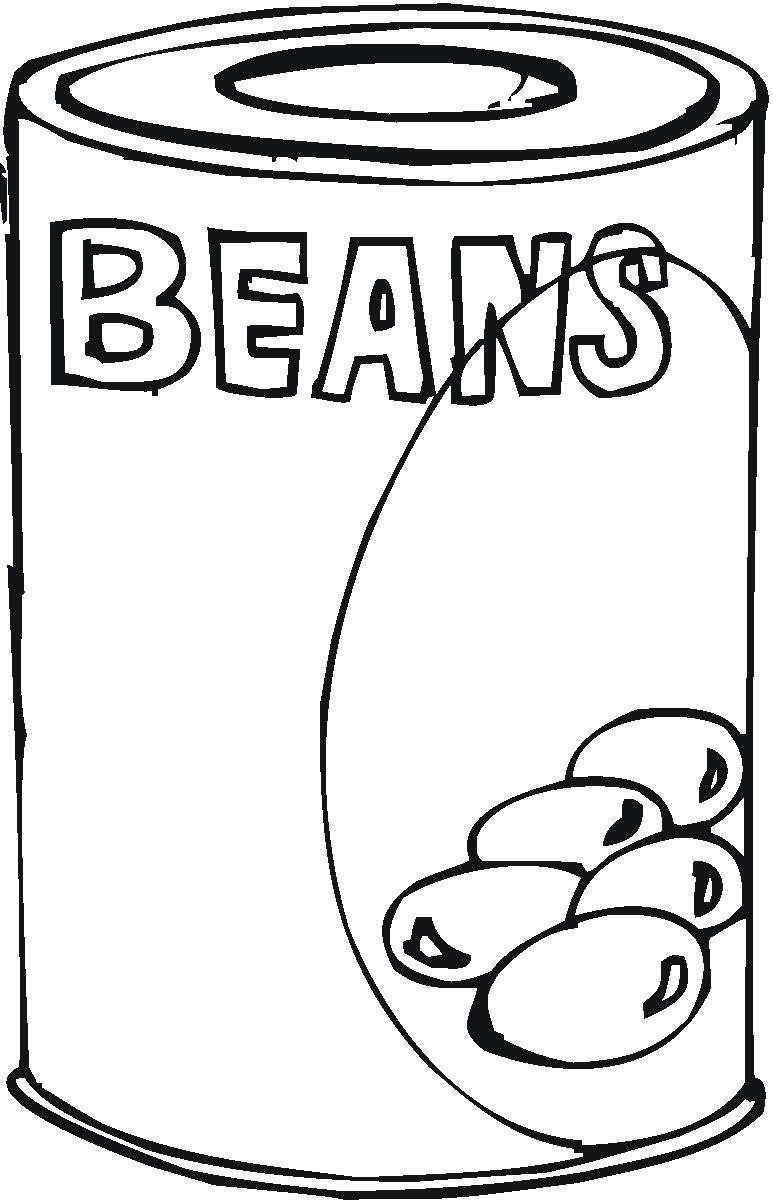 Beans clipart baked bean. Drawing at getdrawings com