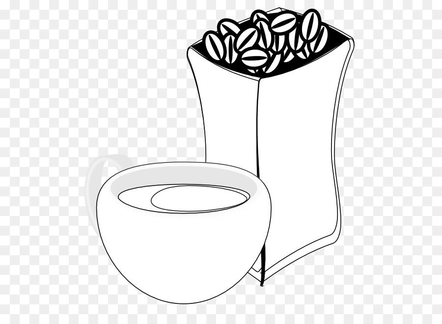 Bean clipart black and white. Coffee cup clip art