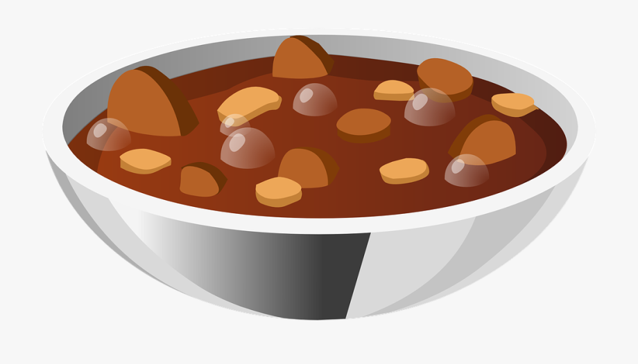 Soup clipart bean soup. Stew beans food meal
