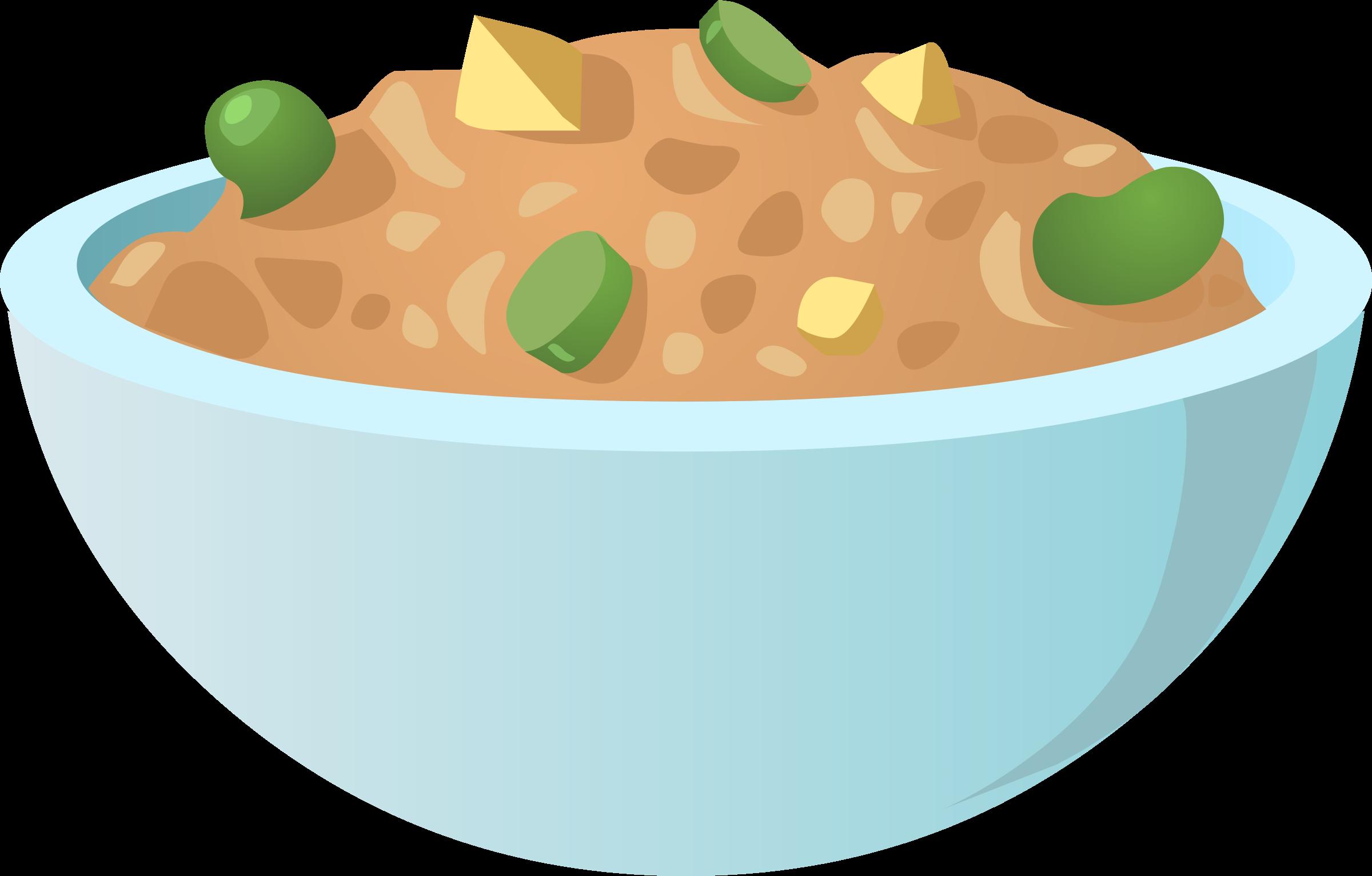 Bean clipart bowl bean. Food best dip icons