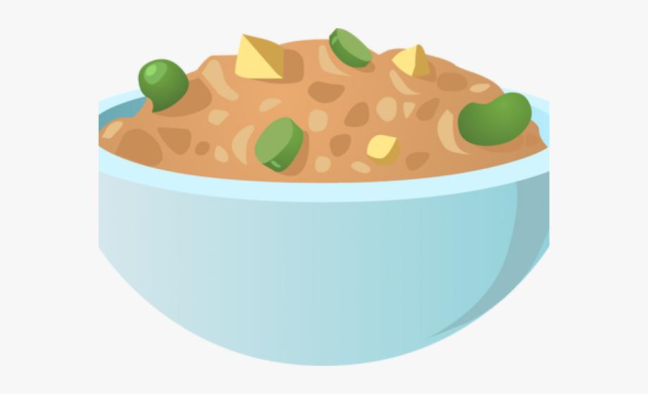 Bean clipart bowl bean.  beans side dish