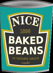 Bean clipart canned. Nice beans clip art