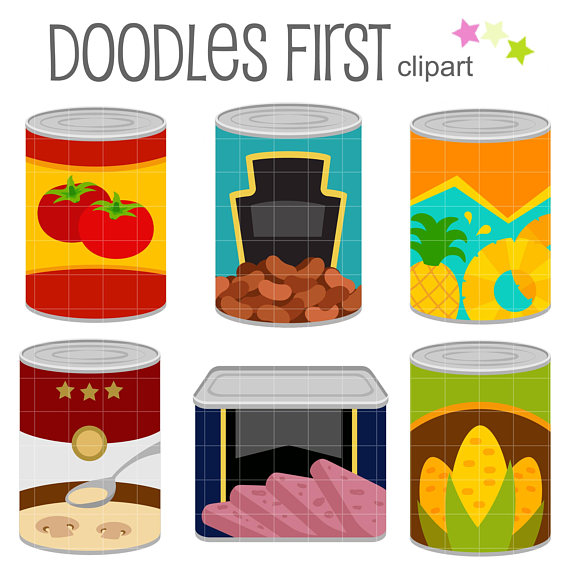 Bean clipart canned. This set includes the
