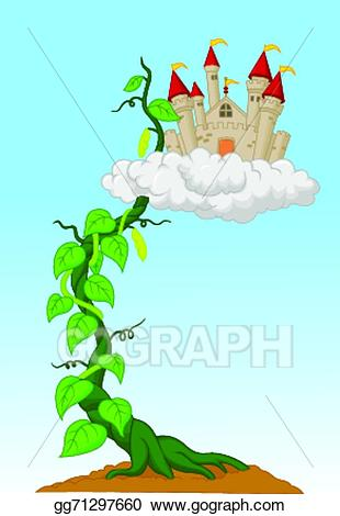 Vector art sprout with. Bean clipart cartoon