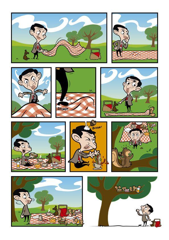 best comics books. Bean clipart comic