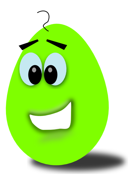 Lime egg clip art. Bean clipart comic