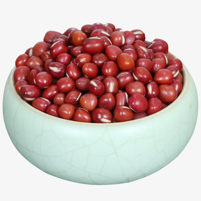 Bean clipart dried bean. A bowl of red