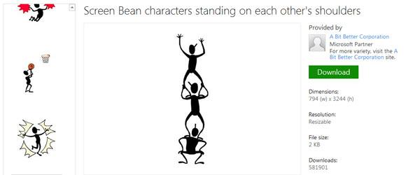 Bean figures . Beans clipart presentation