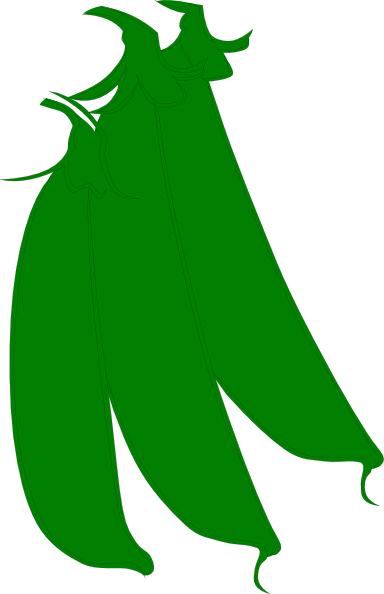 Clip art at clker. Beans clipart green bean