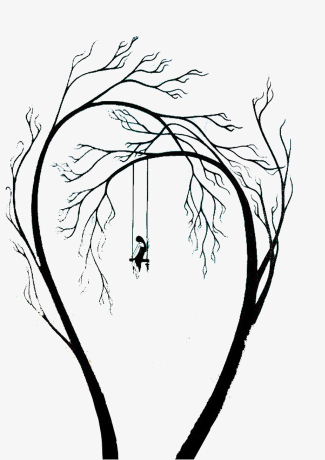 Beans clipart implication. Tree swing illustration trees