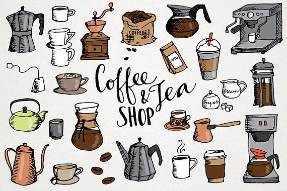 Bean clipart implication. Coffee tea clip art