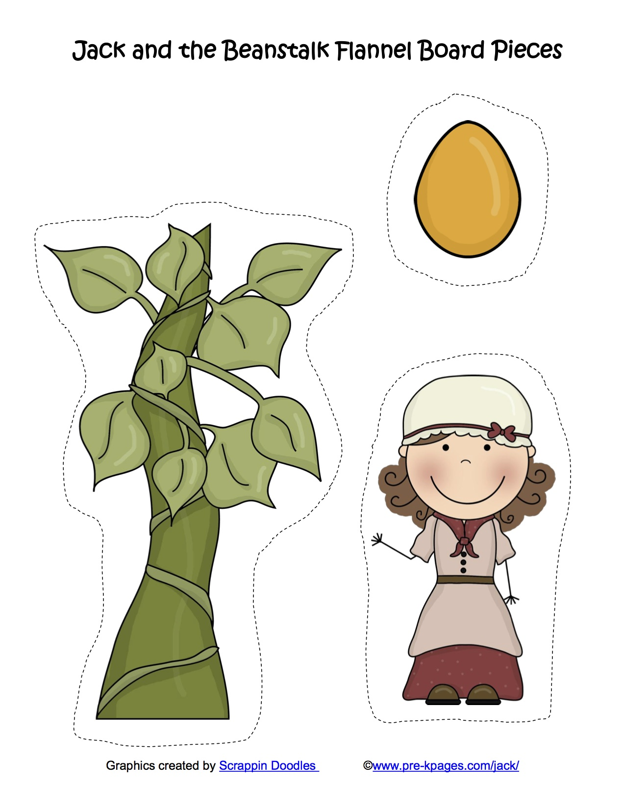 Bean clipart jack and the beanstalk. Kindergarten nana jackbeanstalkflannelboard