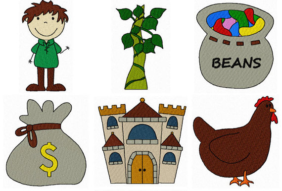 a kids view. Bean clipart jack and the beanstalk