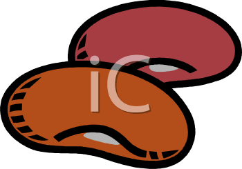 Two big image foodclipart. Beans clipart kidney bean