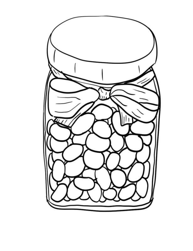 Bean clipart magic bean. Jelly beans drawing at