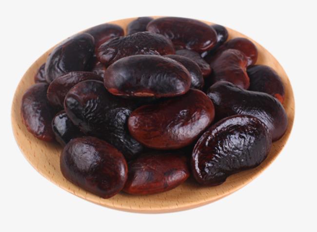 Kim ye snack black. Bean clipart nuts
