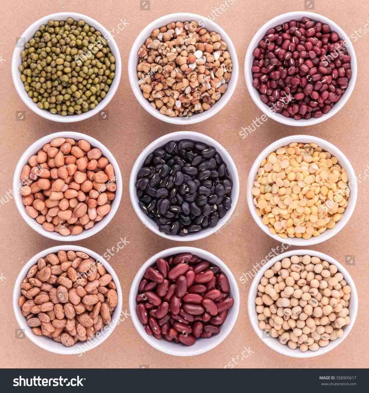 Bag of beans publizzity. Bean clipart pinto bean