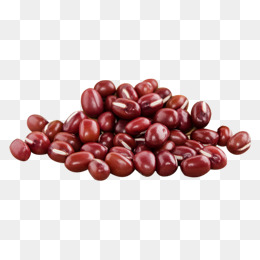 Red png images vectors. Bean clipart refried bean