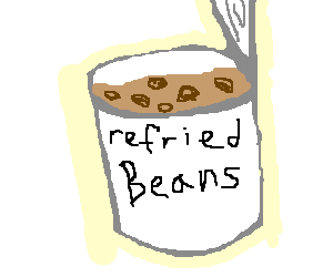 Beans cliparts free download. Bean clipart refried bean