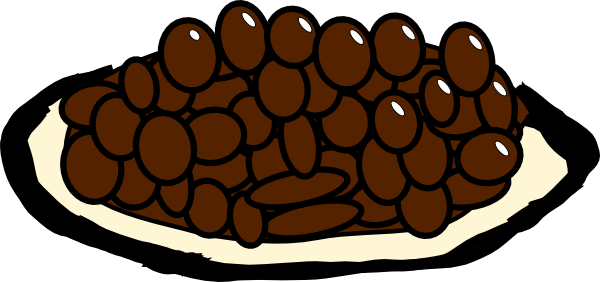 Beans clipart rice bean.  clipartlook