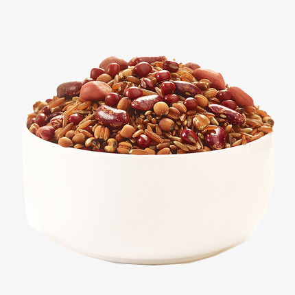 Pudding raw materials material. Bean clipart rice bean