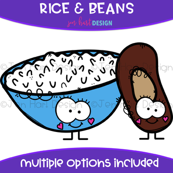 We go together and. Beans clipart rice bean