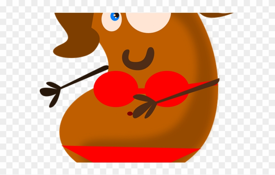Bean cartoon brown png. Jelly clipart single