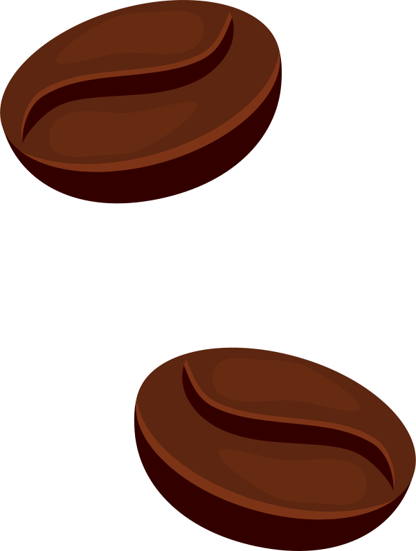 Coffee beans medium image. Bean clipart transparent
