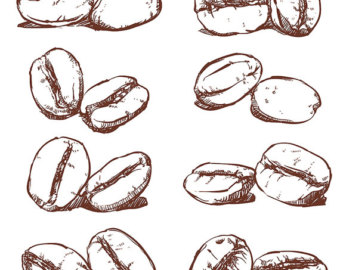 Beans clipart drawing.  off sale coffee