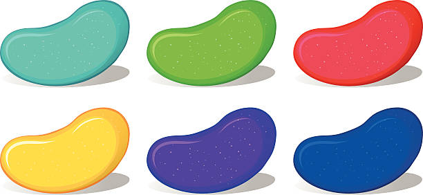 Jelly beans free download. Bean clipart vector