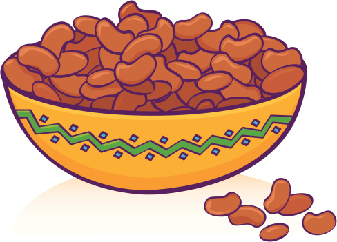 Bean clipart dried bean. Free pinto beans cliparts