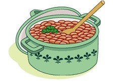 Recipe side dish recipes. Beans clipart baked bean