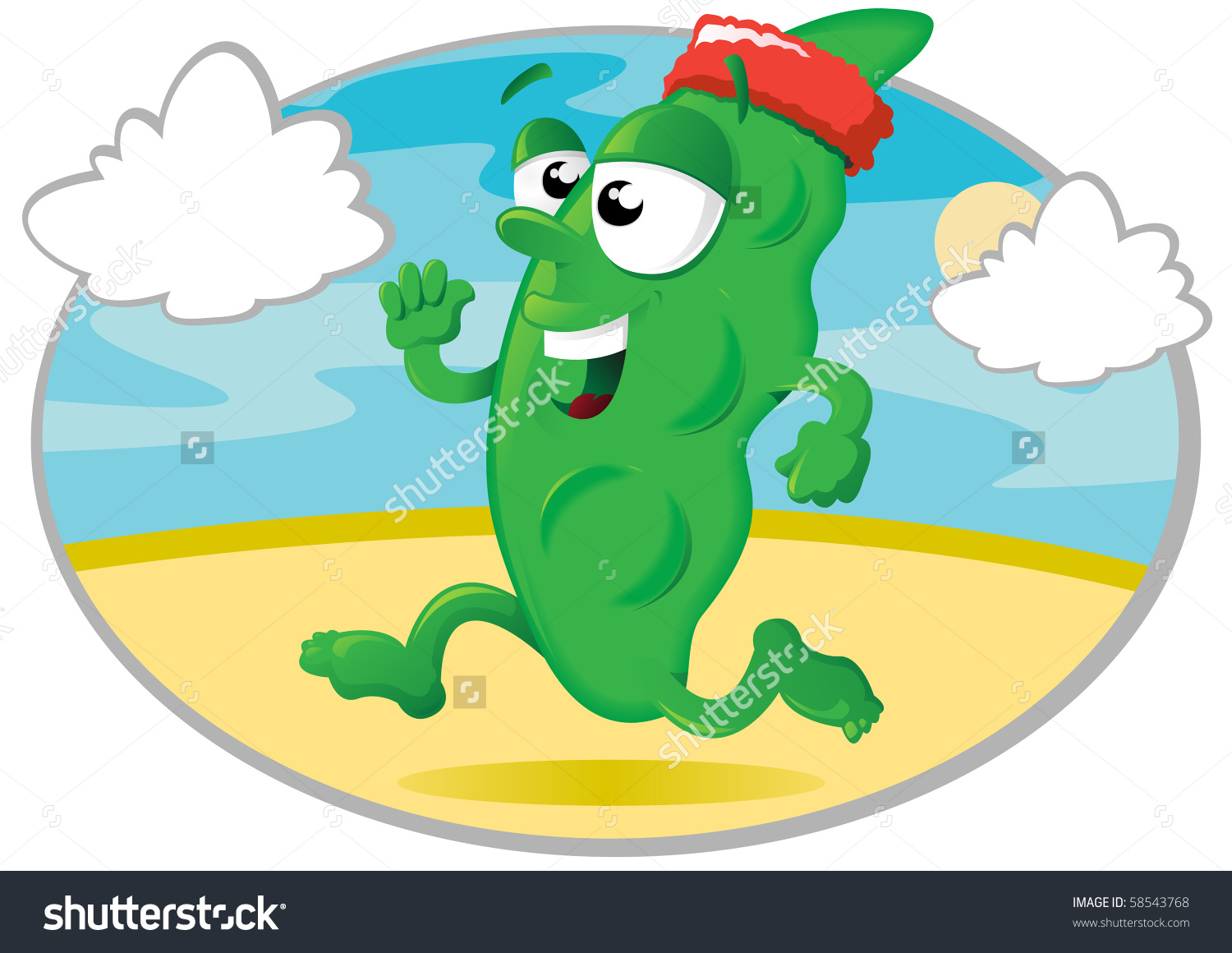 Runner clipground save to. Beans clipart bean pod