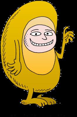 Image human god created. Bean clipart happy