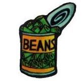 Alive and kickin beauty. Beans clipart canned