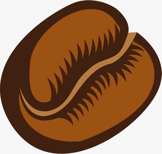 Beans clipart cartoon. Brown coffee bean png