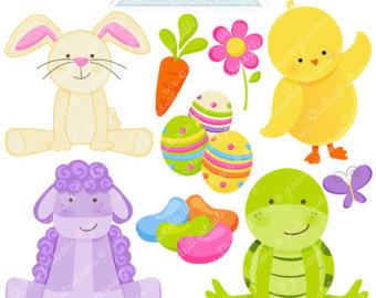 Beans clipart cute. Easter monsters digital monster
