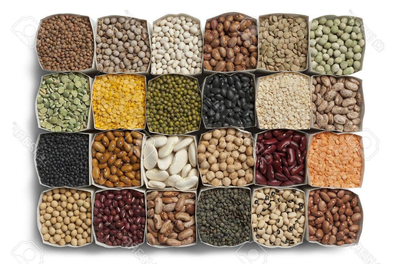 Unique bag of vector. Beans clipart dried bean