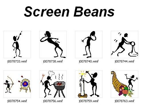 Beans clipart figure.  collection of screen