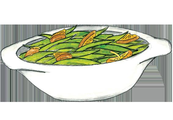 Beans clipart green bean. Wild mushroom casserole recipe