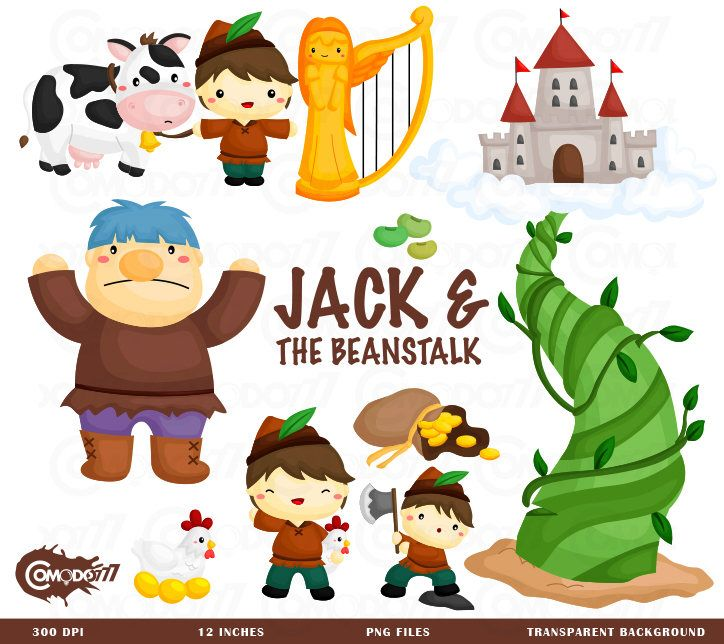 Beans clipart jack and the beanstalk. Clip