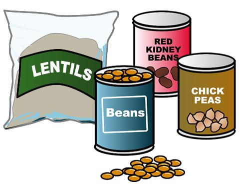 Find out more about. Bean clipart lentils