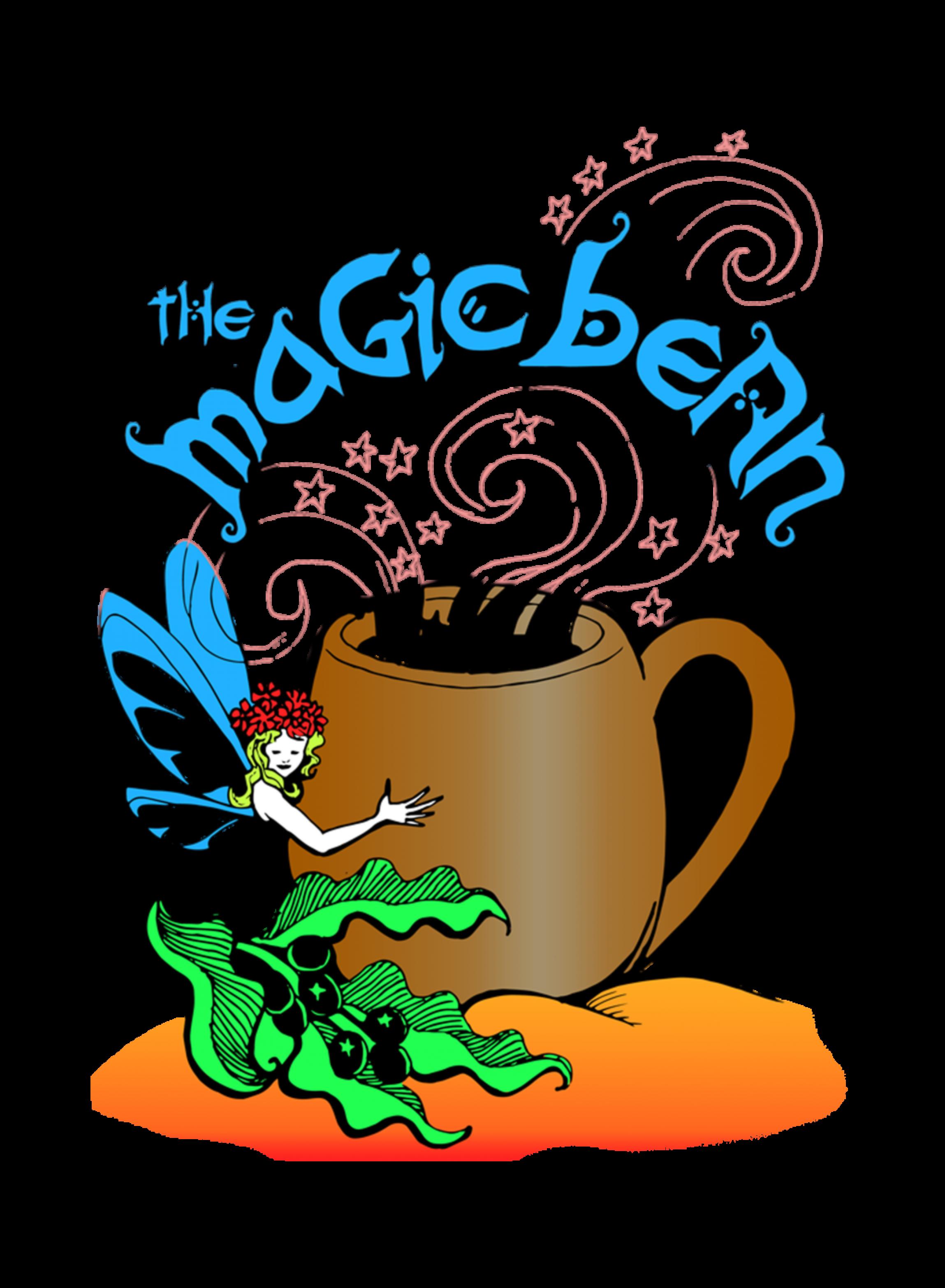 Beans clipart magic bean. Coffee bazaar was opened