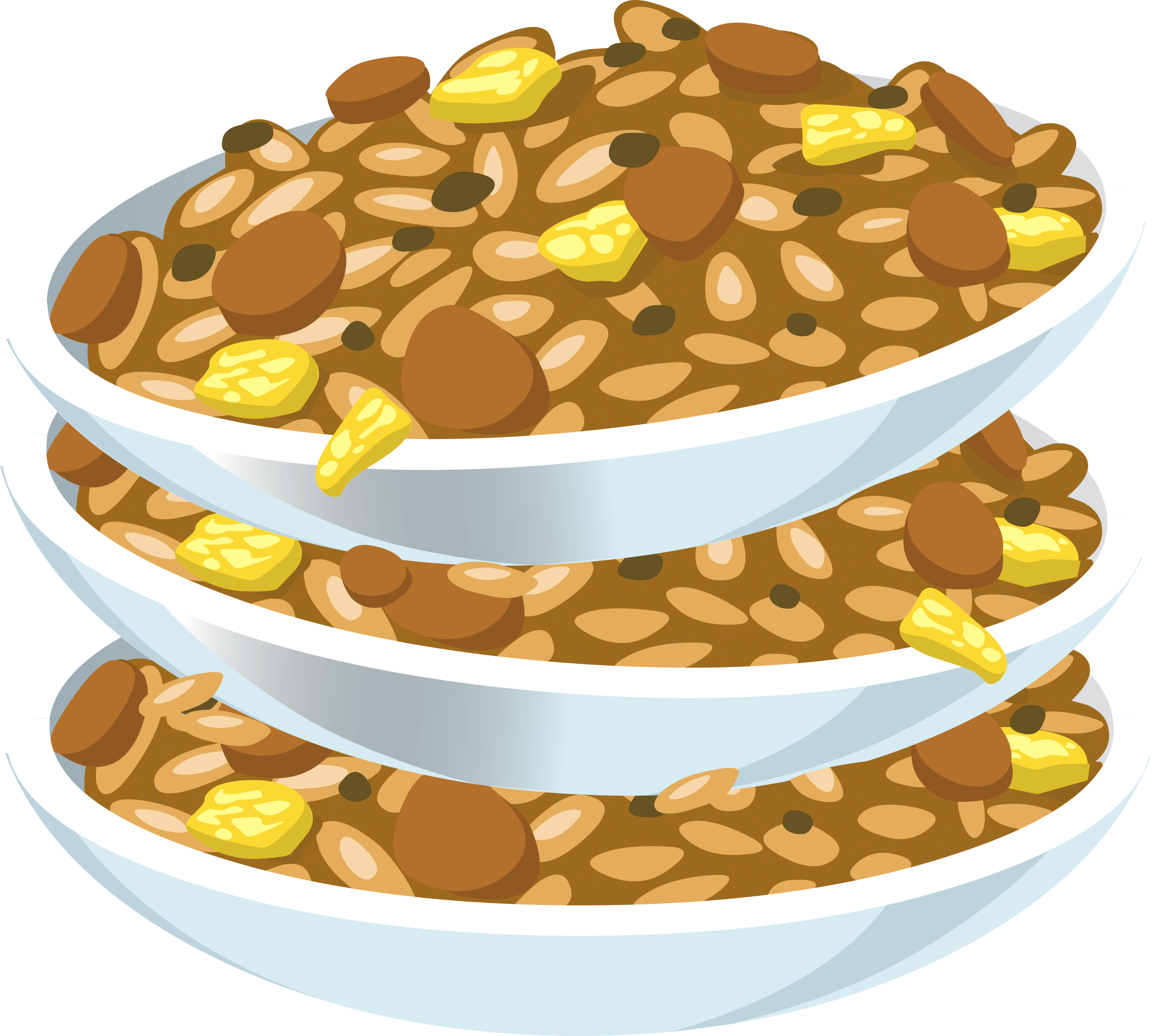 Beans clipart nuts. Fried cliparts zone