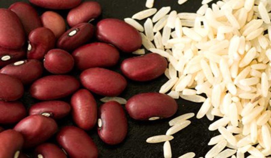 Beans clipart rice bean. Vegetable cartoon food