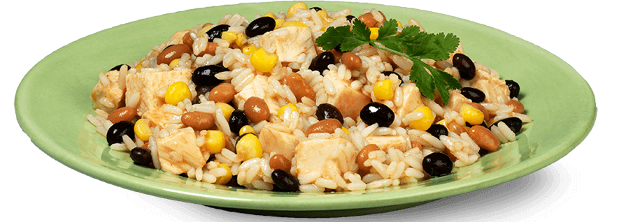 One pot chicken recipe. Beans clipart rice bean