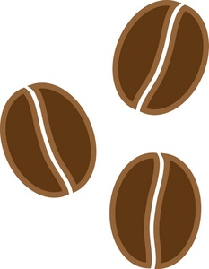 Beans clipart single. Free coffee image food