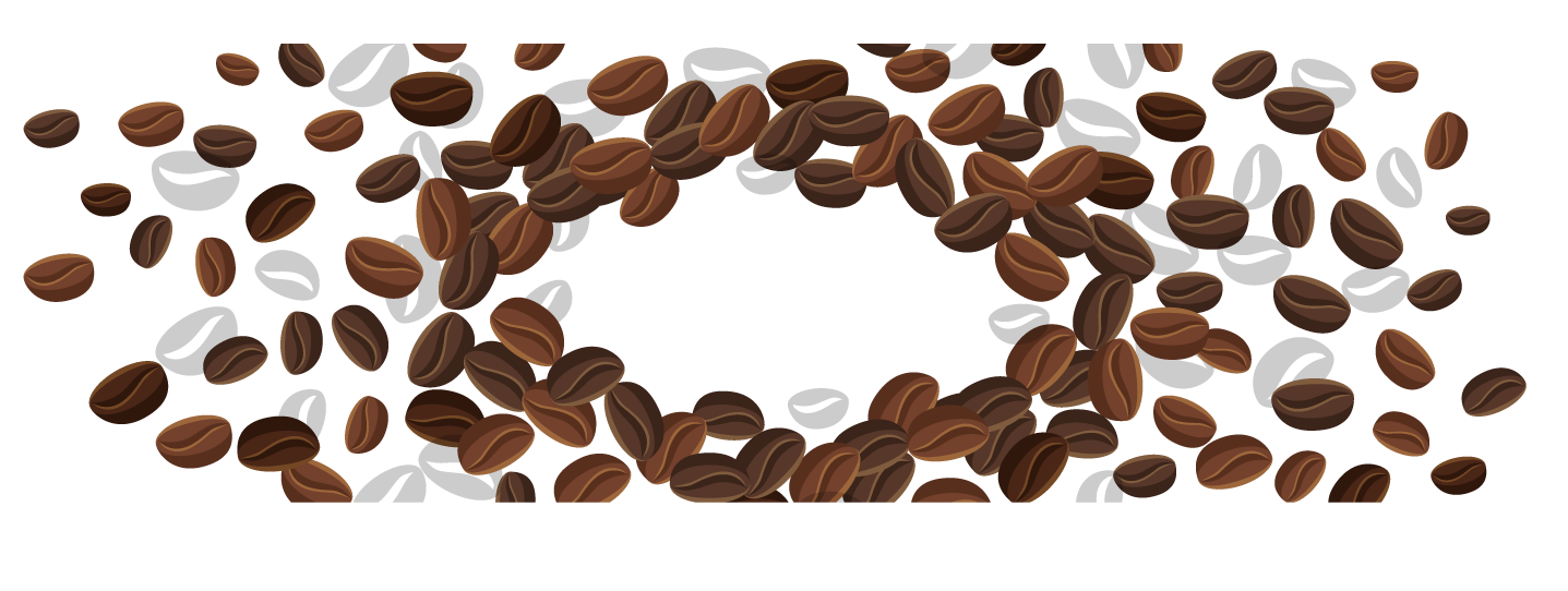 Coffee png free images. Beans clipart transparent