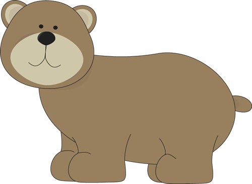 Clipart bear. Clip art images brown